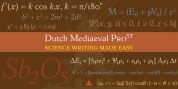 Dutch Mediaeval Pro ST font download