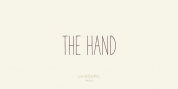 The Hand font download