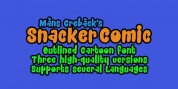 Snacker Comic font download