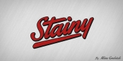 Stainy font download