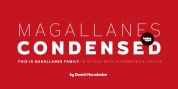 Magallanes Condensed font download