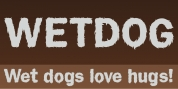 Wet Dog font download