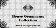 Bruce Ornaments Collection font download