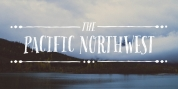 Pacific Northwest font download