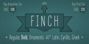 Finch font download