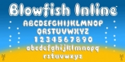 Blowfish Inline font download