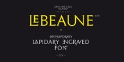 Le Beaune New font download