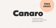 Canaro font download