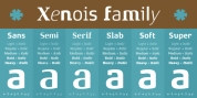 Xenois Slab font download