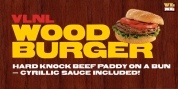 VLNL Wood Burger font download