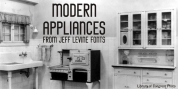 Modern Appliances JNL font download