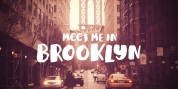 Meet Me In Brooklyn font download