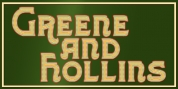 Greene And Hollins font download