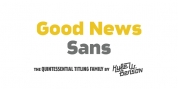 Good News Sans font download