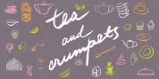 Tea And Crumpets font download
