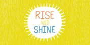 Rise And Shine font download