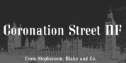 Coronation Street NF font download