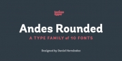 Andes Rounded font download