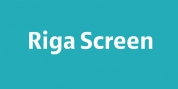 Riga Screen font download