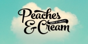 Peaches And Cream font download