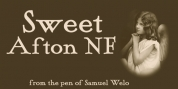 Sweet Afton NF font download