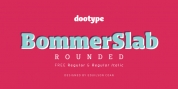 Bommer Slab Rounded font download