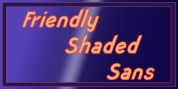 Friendly Shaded Sans font download