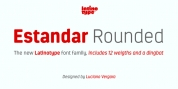 Estandar Rounded font download