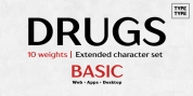 TT Drugs font download