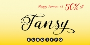 Tansy font download