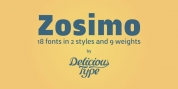 Zosimo font download