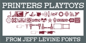 Printers Playtoys JNL font download