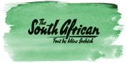 South African font download