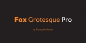 Fox Grotesque Pro font download