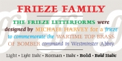 Frieze font download