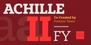Achille II FY font download