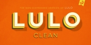Lulo Clean font download