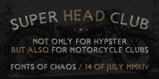 Super Head Club font download