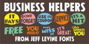 Business Helpers JNL font download