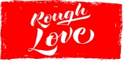 Rough Love font download