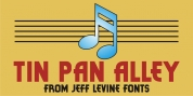 Tin Pan Alley JNL font download
