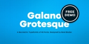 Galano Grotesque font download