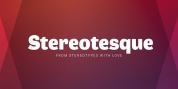 Stereotesque font download