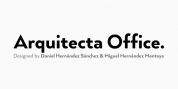 Arquitecta Office font download