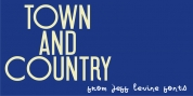 Town And Country JNL font download