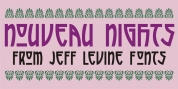 Nouveau Nights JNL font download