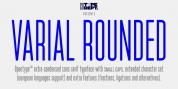 Varial Rounded font download
