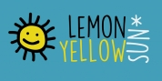 Lemon Yellow Sun font download