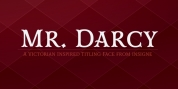 Mr Darcy font download