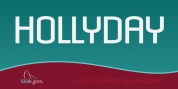 Hollyday font download
